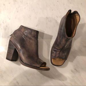 Shoes - BEDSTU peep toe booties
